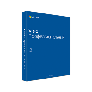 Visio Pro 2019 32/64 English EM DVD