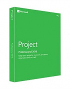 Microsoft Project Prof 2016 32/64 Russian Central/Eastern Euro Only EM DVD H30-05438
