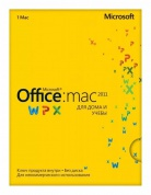 Microsoft Office Mac Home Student 2011 Russian Russia Only EM DVD No Skype