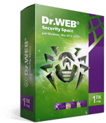 Dr.Web Security Space КЗ 1 ПК 1 Год