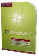 Microsoft Windows Home Basic 7 Russian Russia Only DVD