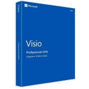 Microsoft Visio Pro 2016 32-bit/x64 Russian Central/Eastern Euro Only EM DVD
