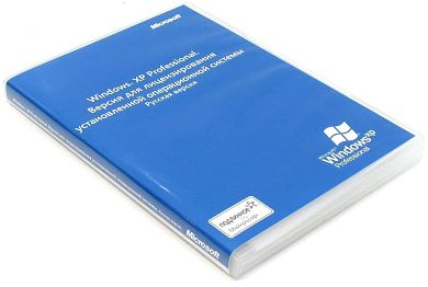 Microsoft Windows XP Professional Get Genuine Kit SP2 32-bit Russian Legalization DSP ORT OEI CD