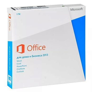 Microsoft Office Home and Business 2013 32/64 Russian Russia Only EM DVD No Skype