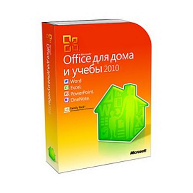 Microsoft Office Home and Student 2010 32-bit/x64 Russian DVD