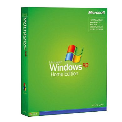 Windows XP Home Edition BOX