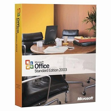 Microsoft Office  2003 Standard Russian CD BOX
